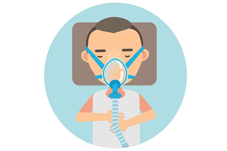 CPAP療法(経鼻的持続陽圧呼吸療法)