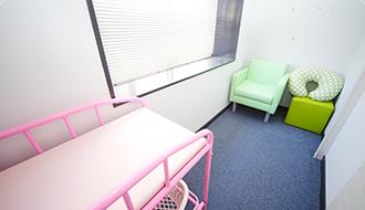 お子様連れ・車椅子の方も来院しやすい体制を完備